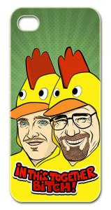 Breaking Bad - Walter White - Heisenberg - Jesse Pinkman - Los Pollos Hermanos - Samsung Galaxy S3 - iPhone - PeachyApricot - Aaron Paul - Bryan Cranston