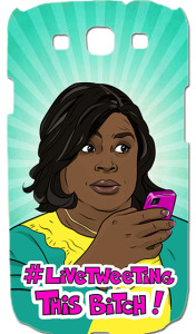 Donna Meagle - Retta - Live Tweeting - Parks and Recreation - Samsung Galaxy S3 - iPhone - PeachyApricot