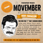 Ron Swanson Movember Giveaway!
