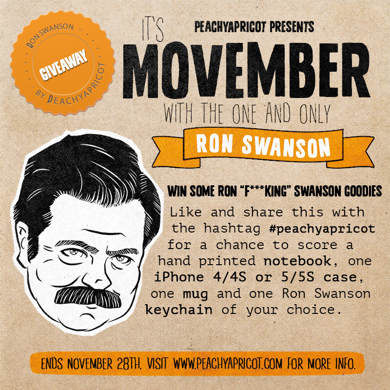 Ron Swanson Giveaway