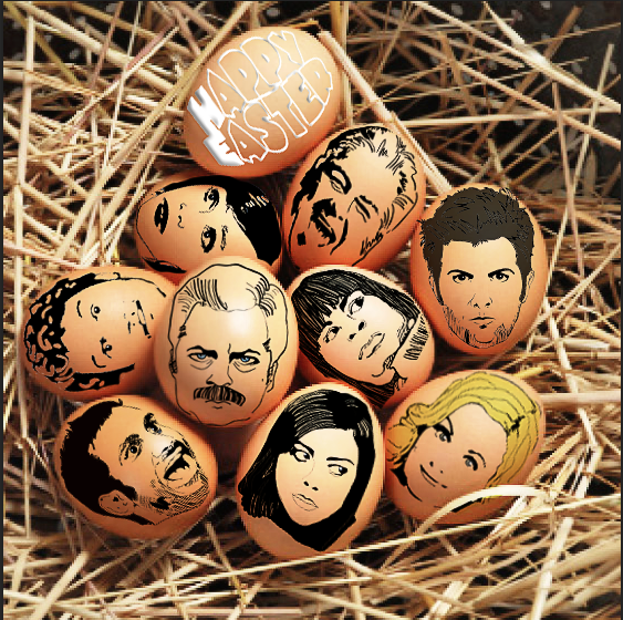 Parks and Rec Easter